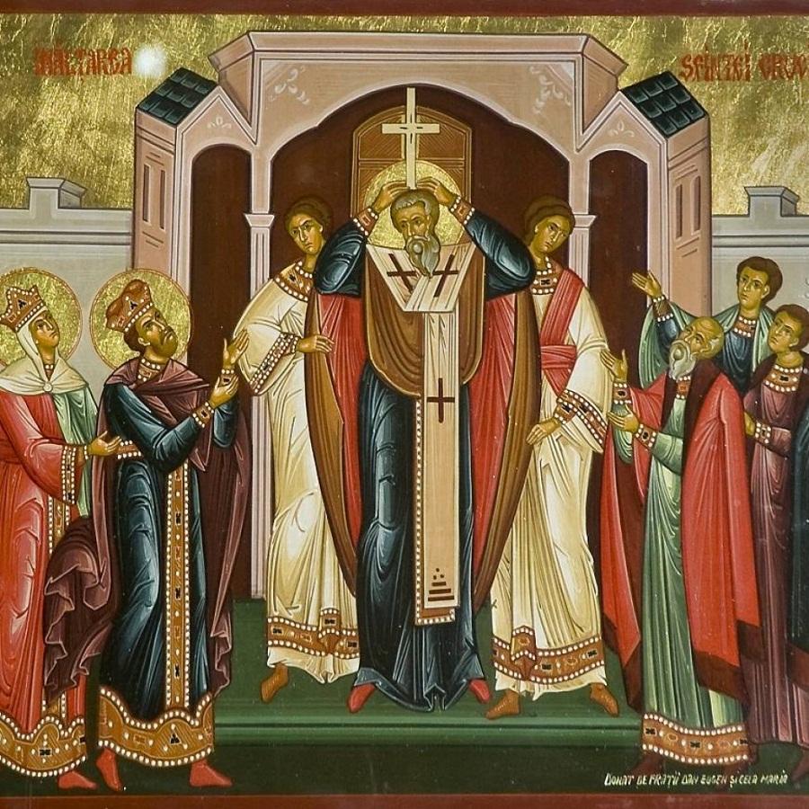 Sărbătoarea Sfintei Cruci în 14 septembrie
