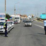 Infracțiuni rutiere constatate în weekend