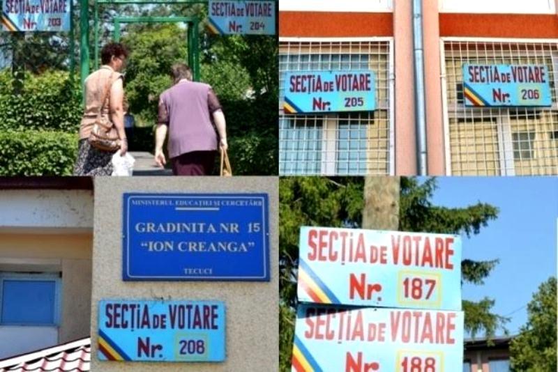 Alegeri Parlamentare 2016 – Delimitarea Secțiilor de votare în Municipiul Tecuci