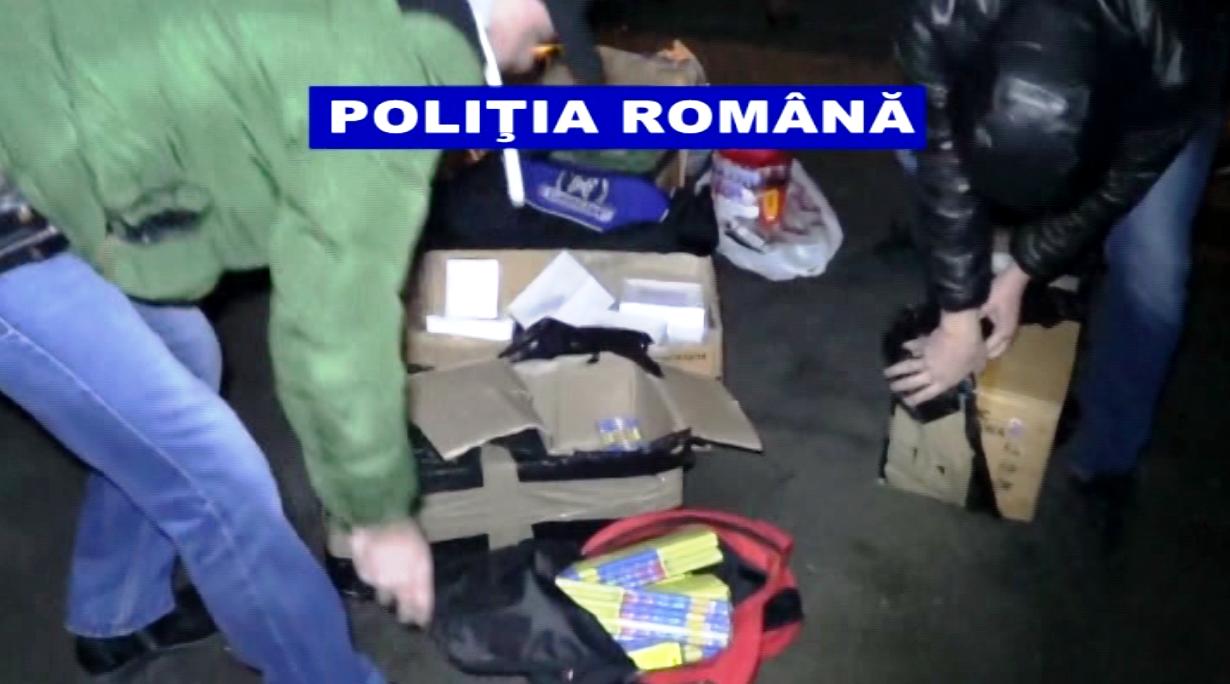 Materiale pirotehnice deținute ilegal – Video
