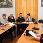 """Ședinţă de lucru a Cenaclului literar """"Calistrat Hogaş"""" Tecuci"""