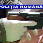 Arme de foc, introduse ilegal în țară, găsite de polițiști la Gohor – Video