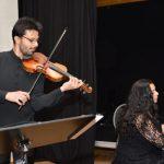 Recital extraordinar la Tecuci susținut de violonistul Răzvan Stoica şi pianista Andreea Stoica